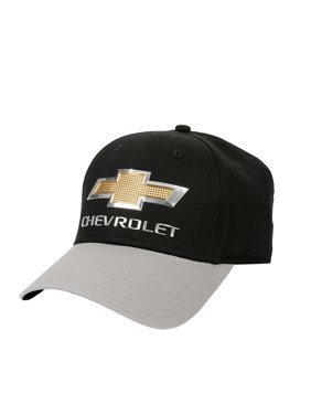 b9708d34969e0c Product Image Men s Cotton Twill Ball Cap With Chrome Weld Logo and  Contrast Bill