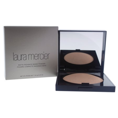 Matte Radiance Baked Powder - Highlight - 01 Golden Nude by Laura Mercier for Women - 0.26 oz (Best Matte Highlighting Powder)