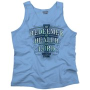 My Redeemer Lives Christian T Shirt | Jesus Christ God Savior Tank Top Shirt