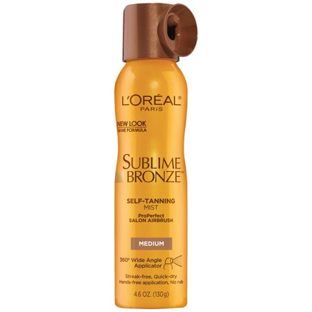 (L'Oreal Paris Sublime Bronze ProPerfect Salon Airbrush Self Tanning Mist)