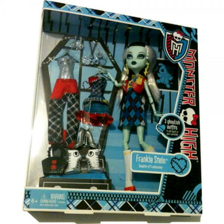 Monster High Exclusive Frankie Stein I Love Fashion Doll and 3 Outfit - Frankie Stein Outfits