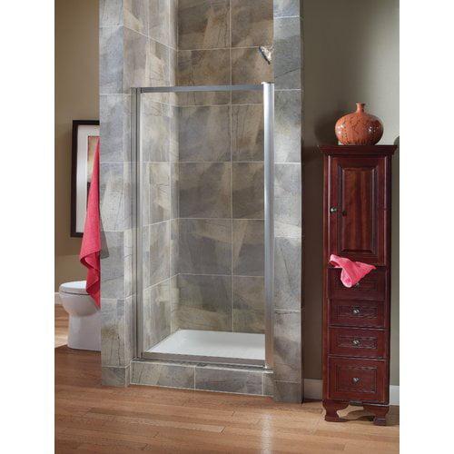 Hazelwood Home Chase 35'' x 65'' Pivot Framed Shower Door