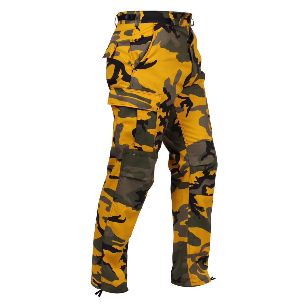 Ultra Force Savage Orange Camouflage B.D.U. Pants