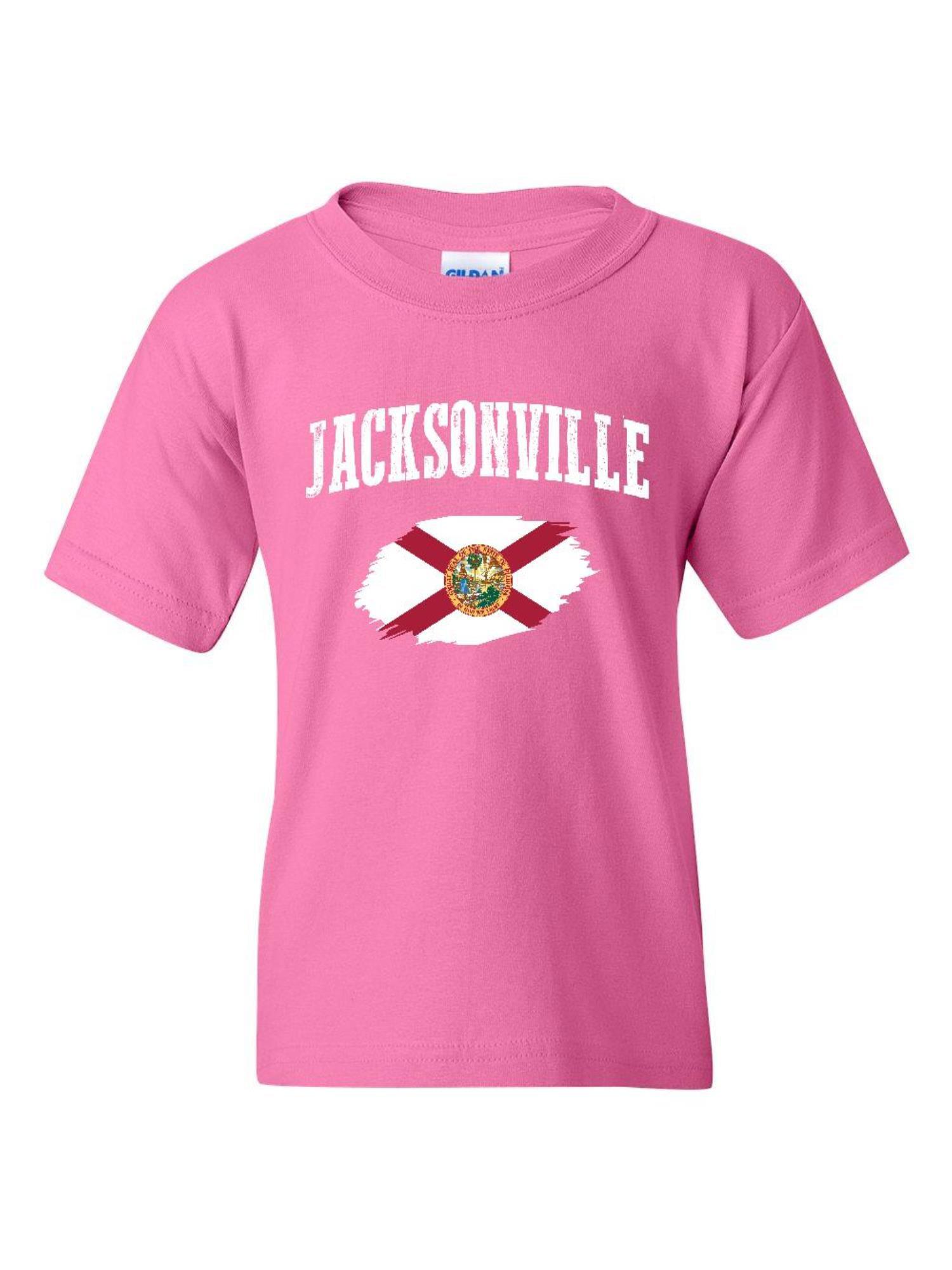 1288543a Jacksonville Florida Unisex Youth Kids T-Shirt Tee