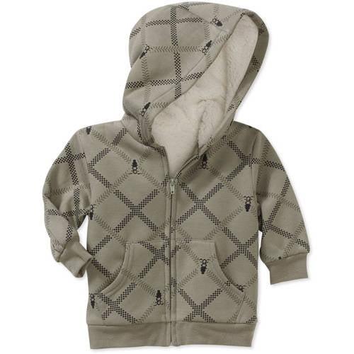 George Newborn Boys' Printed Fleece Hoodie