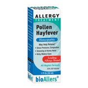 bioAllers Allergy Treatment   Homeopathic Formula May Help Relieve Sneezing, Congestion, Itching, Rashes & Watery Eyes   1 Fl Oz (Pollen Hayfever)