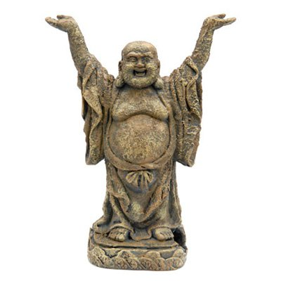 Penn Plax Standing Buddha Aquarium Ornament