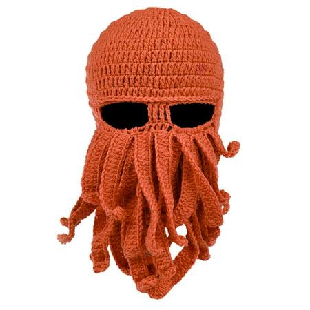 Octopus Cthulhu Knit Beanie Hat Cap Wind Ski Mask](Windy Hat)