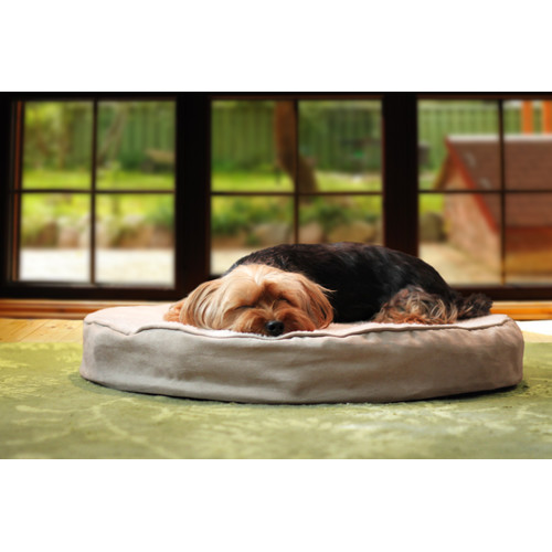 FurHaven Deluxe Round Orthopedic Pet Dog Bed