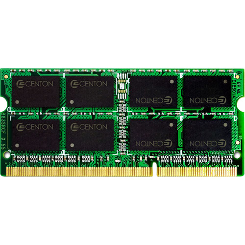 Centon MemoryPower Notebook Memory Module DDR3 SO-DIMM 204-Pin 2GB