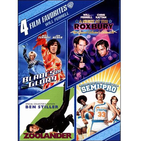 4 Film Favorites: Will Ferrell: Campaign / Old School / Blades Of Glory / Semi-Pro - Blades Of Glory Jimmy