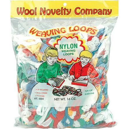 Wool Novelty 16 Ounce Multi Weaving Loops - Weaving Kits