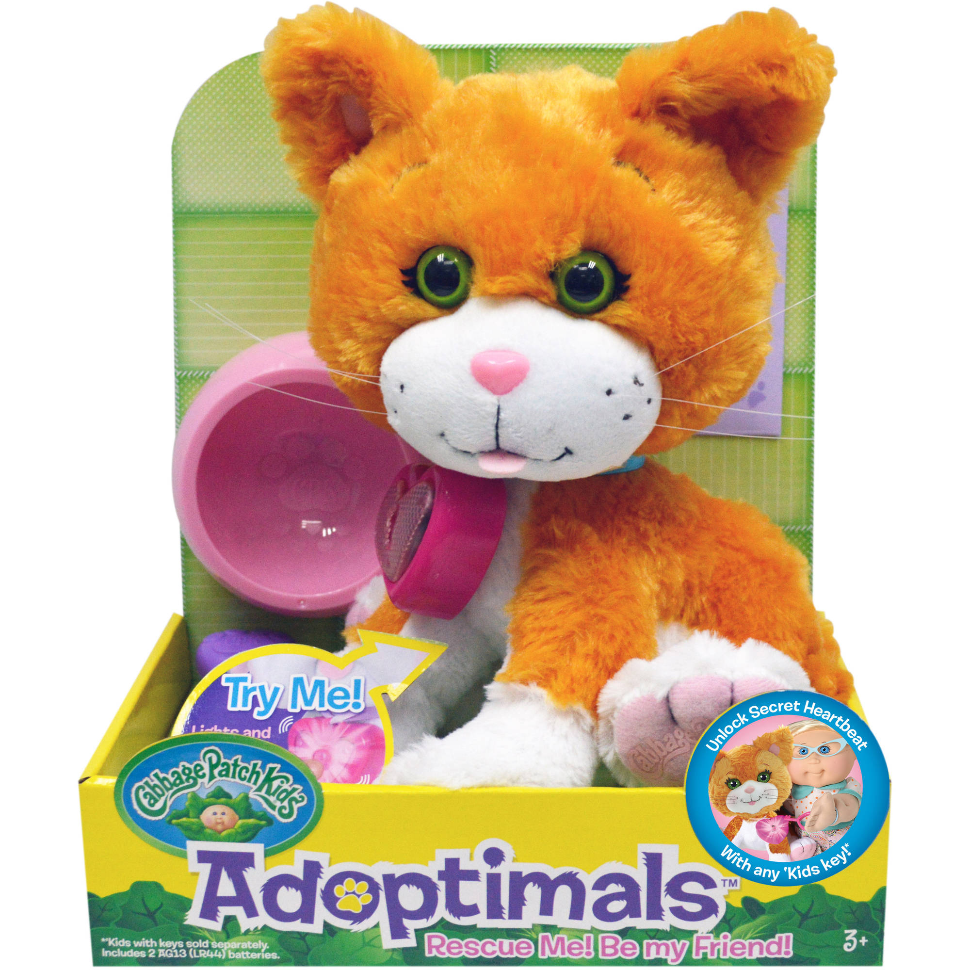 Cabbage Patch Kids Adoptimals, Tabby Kitty by Wicked Cool Toys
