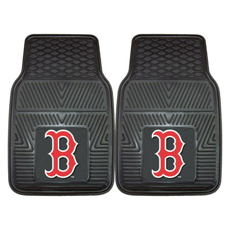 Boston Red Sox 2-pc Vinyl Car Mats - Sox Car