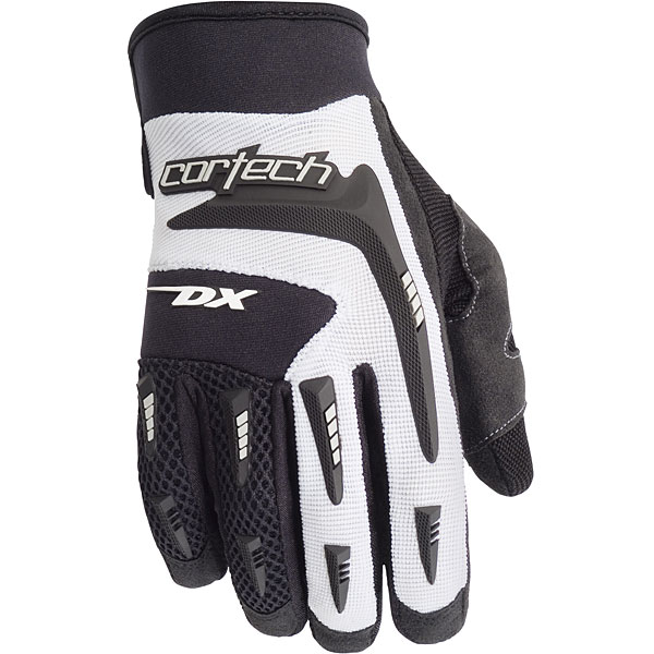 Cortech DX 2 Youth Textile Gloves White