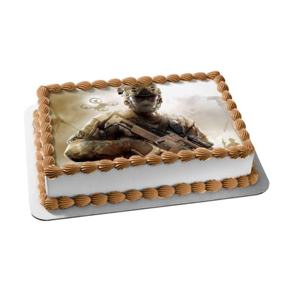 Marvelous Call Of Duty Black Ops 2 Alex Mason Edible Cake Topper Image Funny Birthday Cards Online Inifodamsfinfo