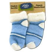 Maggies Functional Organics - Wool Socks Blue Toddler 2 pk