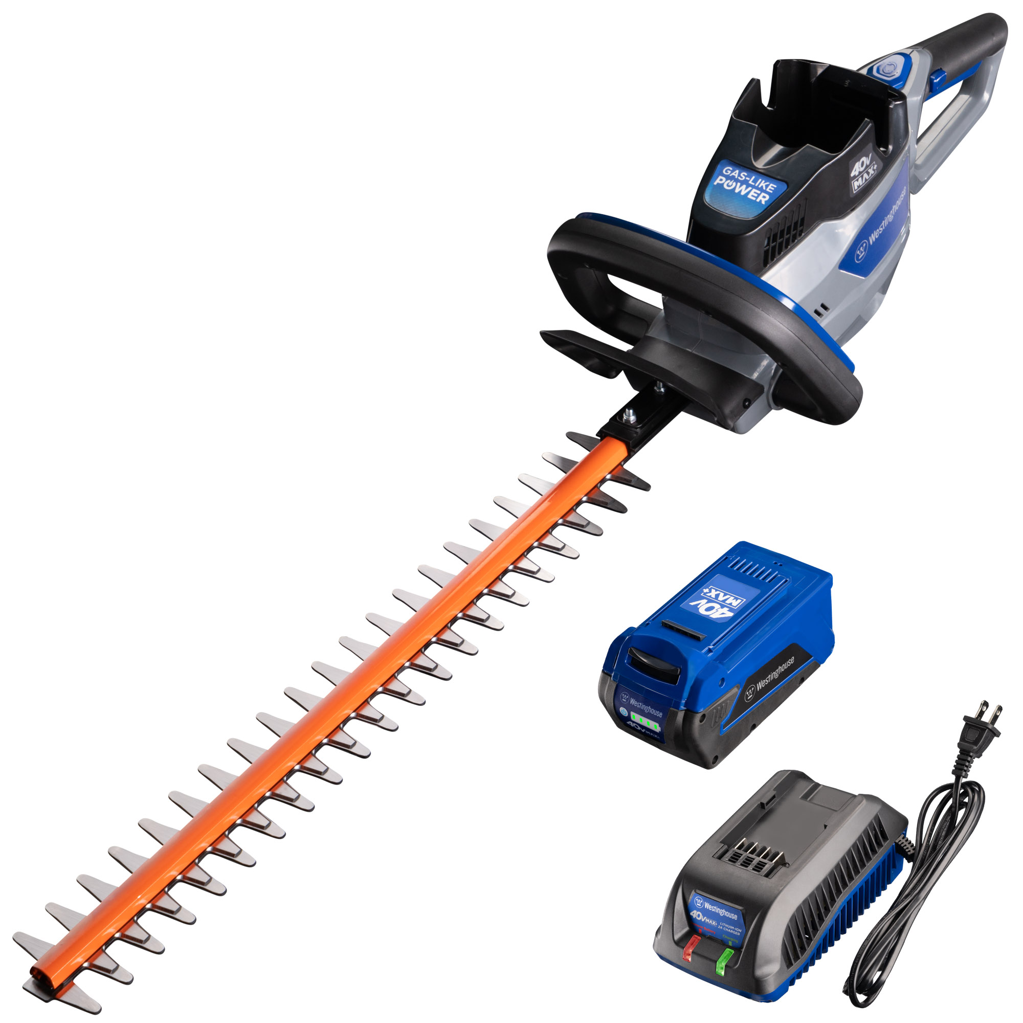 Westinghouse 40V Hedge Trimmer with 4.0 Ah Battery and Battery Charger, 4HT4AH4BC by Westinghouse