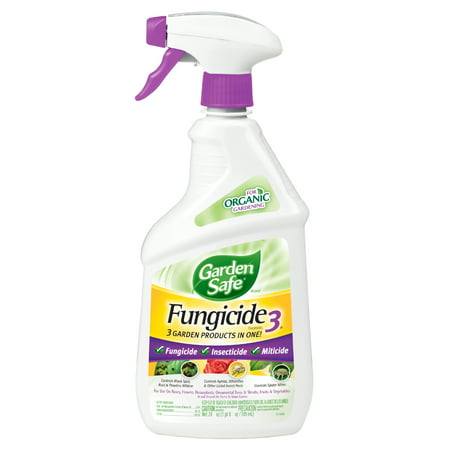 Garden Safe Brand Fungicide3, Ready-to-Use, 24-fl oz