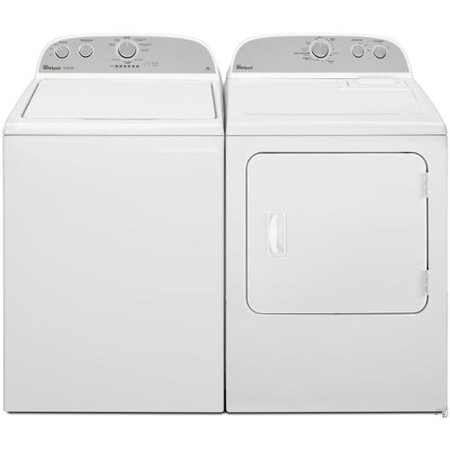 Whirlpool High Efficiency Top Load Washer And Dryer Set