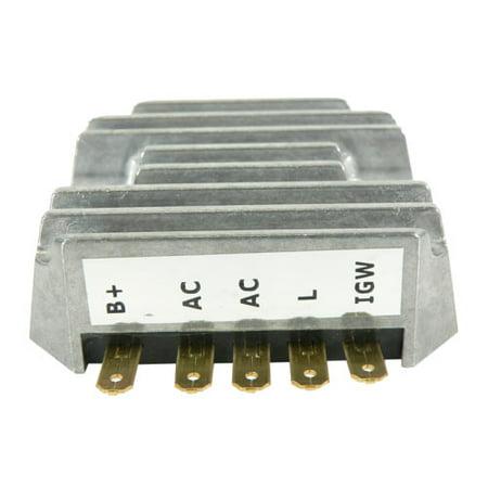 (Rectifier Voltage Regulator For John Deere Lawn Garden Tractor 330 322 332,John Deere Compact Tractor 670 770 870 970 1070,John Deere Mowers,Tractors AM101406,John Deere Commerical Mower F915)