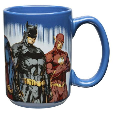 Zak! Designs 15 Ounce Comics Justice League Coffee Mugs 15 Ounce Grande Mug