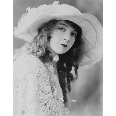 LAMINATED POSTER Silent Film Portrait Woman Lillian Gish Actress Poster Print 24 x 36