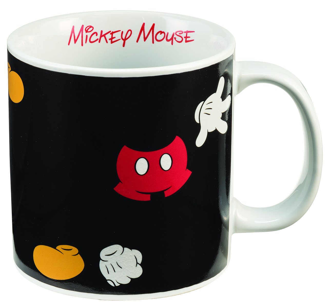 Mickey Mouse 20 Oz Heat Reactive Ceramic Mug [avail Late July] (Vandor)