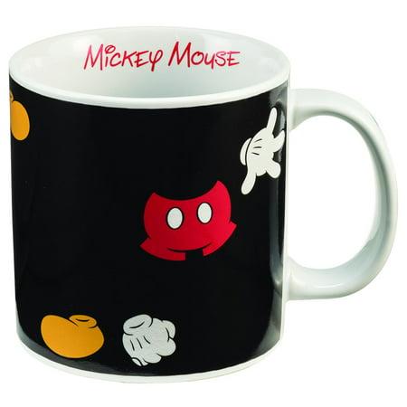 Mickey Mouse 20 Oz Heat Reactive Ceramic Mug  Avail Late July   Vandor