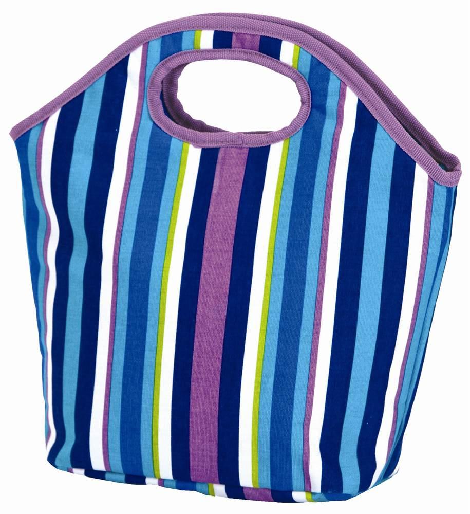 Pastel Stripes Lunch Bag
