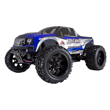 Redcat Racing RER04289 Volcano EPX 1 by 10 Scale Electric Monster Truck, Blue - image 7 de 10
