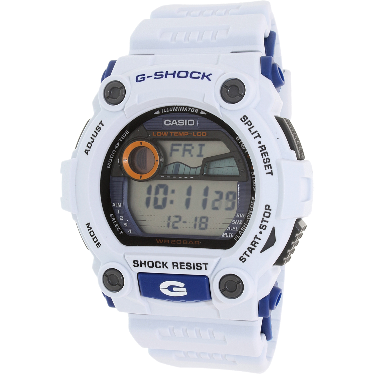 Casio Men's G-Shock G7900A-7 Blue Resin Quartz Watch