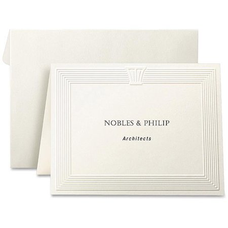 first base embossed note cards - Embossed Note Cards