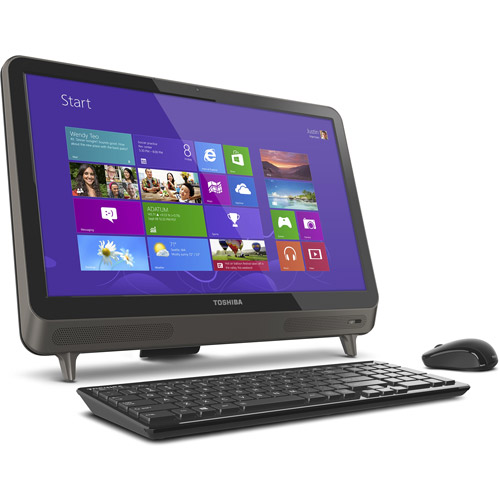 """Toshiba Lx835-d3360 23"""" All-in-one Deskt"""