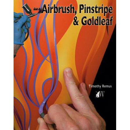 How to Airbrush, Pinstripe & Goldleaf