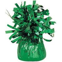 (5 Pack) Foil Balloon Weight, Green, 1ct