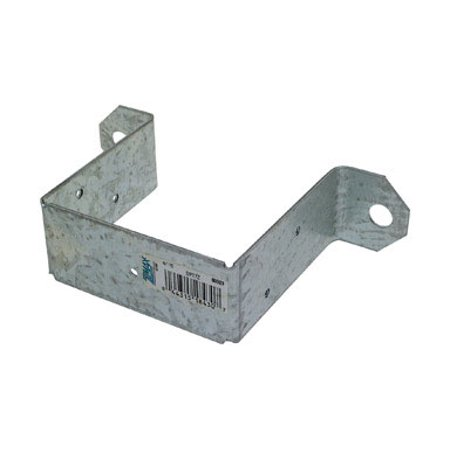 Simpson Strong-Tie ZMax 6.31 in. H x 3-1/2 in. W x 3-1/2 in. H x 1.5 in. W 14 Ga. Deck Post Tie S - Case Of: 1