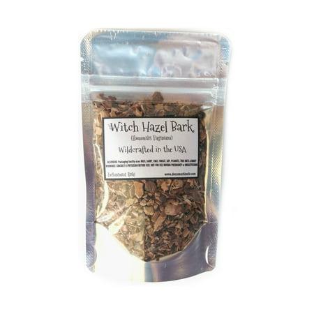 Reiki Charged Witch Hazel Bark Hamamelis Virginiana Wildcrafted in the USA Dried 0.6 oz bag Small Sample Bag Witch Hazel Bark Powder
