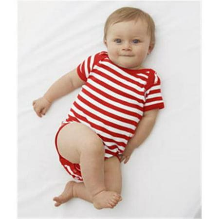 Rabbit Skins Infant Baby Rib Lap Shoulder Bodysuit