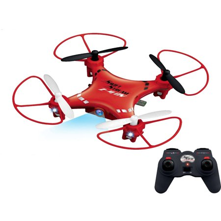 Swift Stream Z-4CV 4Hz 5-Channel RC Mini Drone with 6-Axis Gryo and 0.3MP Camera, Red