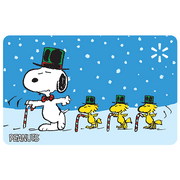 Peanuts Candy Canes Walmart eGift Card