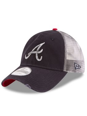 d432c75860d34 Product Image Atlanta Braves New Era Team Rustic 9TWENTY Snapback  Adjustable Hat - Navy - OSFA