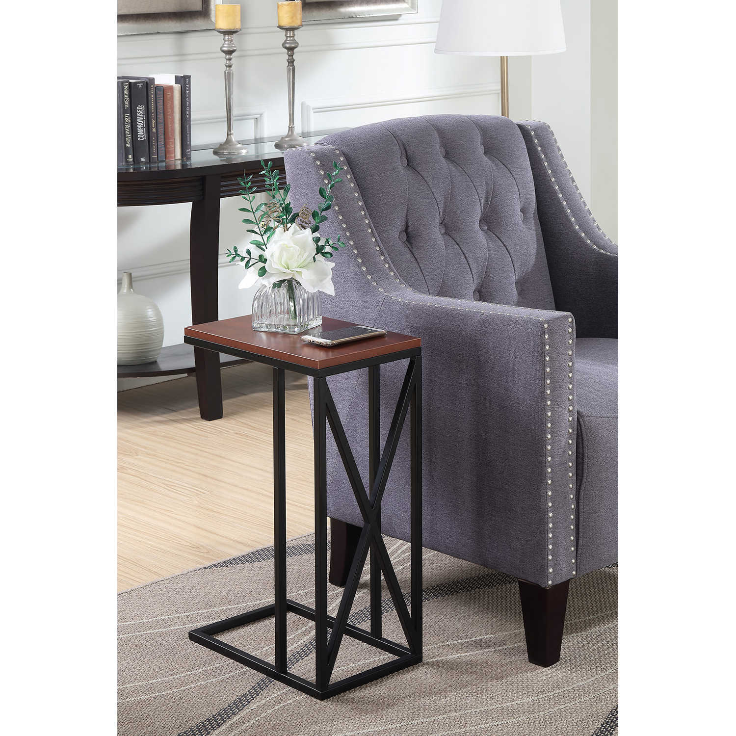 Convenience Concepts Tucson C End Table, Multiple Finishes