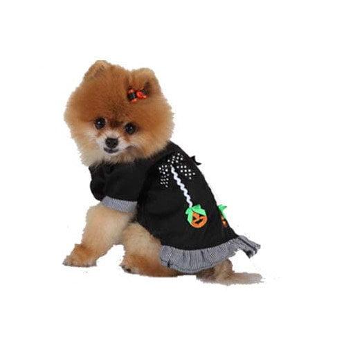 Max's Closet Halloween Pumpkin Dog Dress