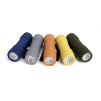 Ozark Trail 10-Pack, 9-LED Mini Flashlight for Camping