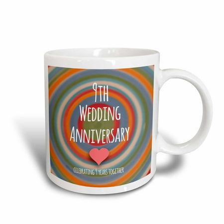 3drose 9th wedding anniversary gift pottery celebrating 9 year anniversary gift