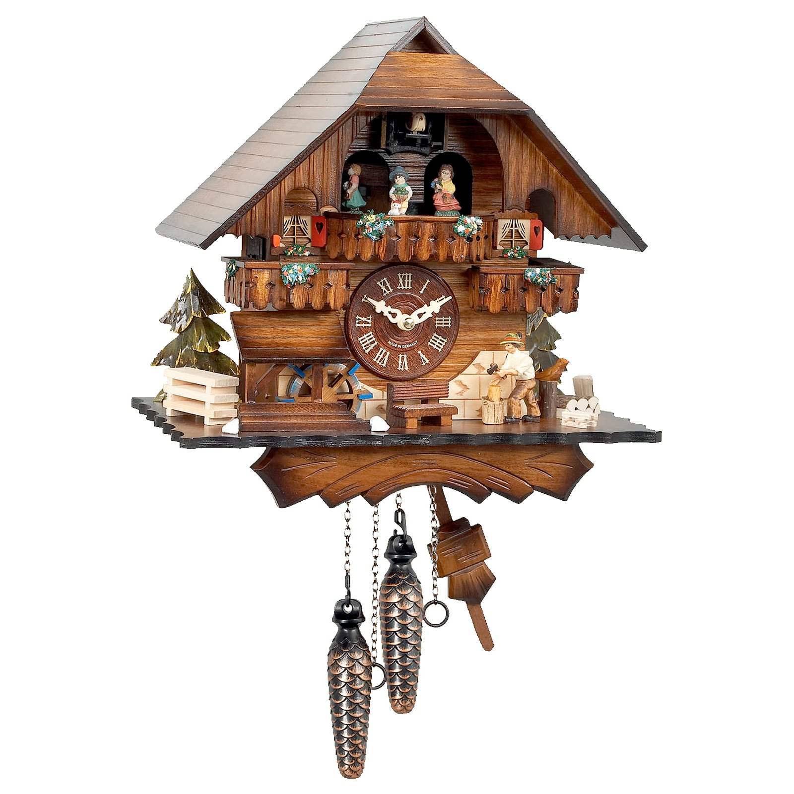 Musical Dancer Cuckoo Clock