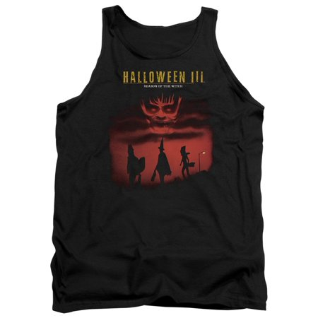 100 Floors Seasons Halloween 11 (Halloween III Season Of The Witch Mens Tank Top)