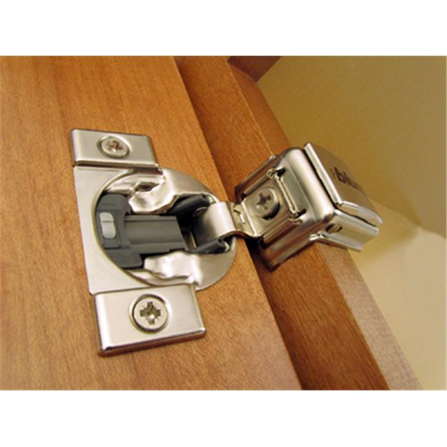 B039C358B.22 Blum Compact 39C 110 degree 1.38 in. OL Soft Close Press-in Hinge
