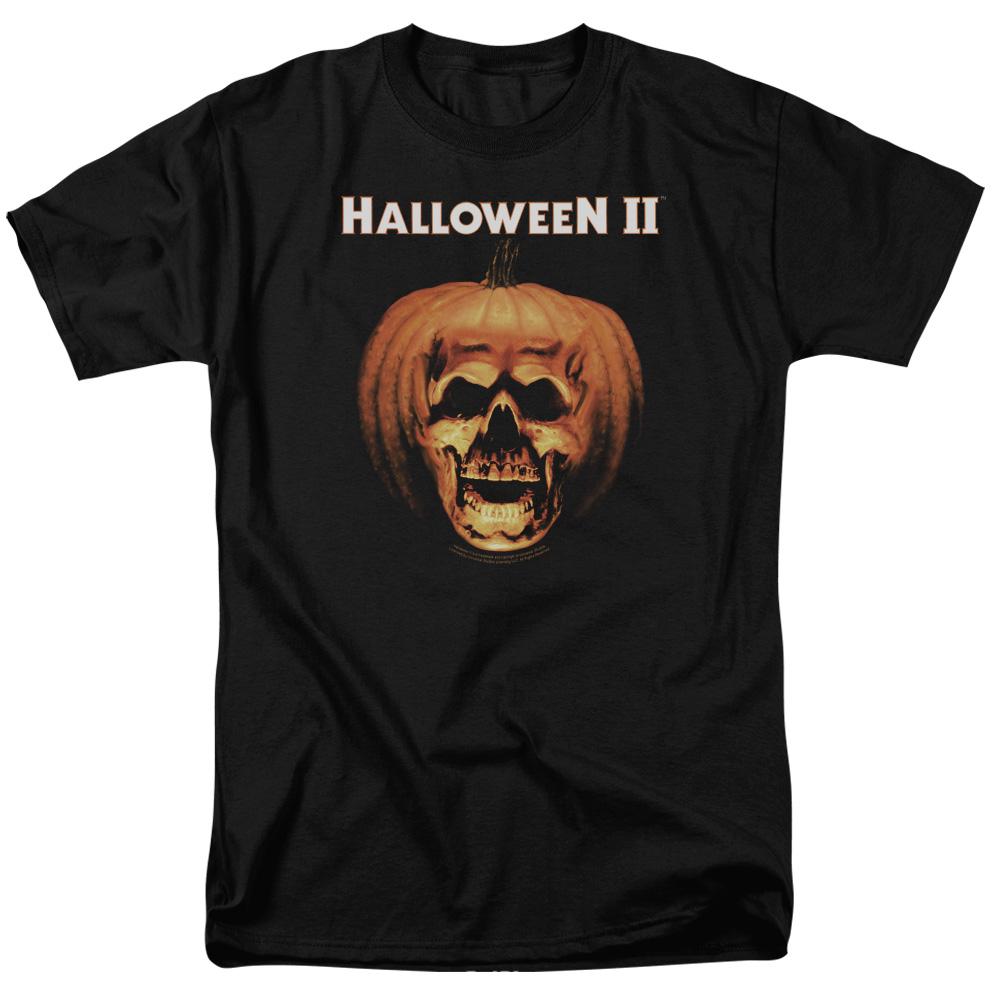 Halloween II Pumpkin Shell Mens Short Sleeve Shirt